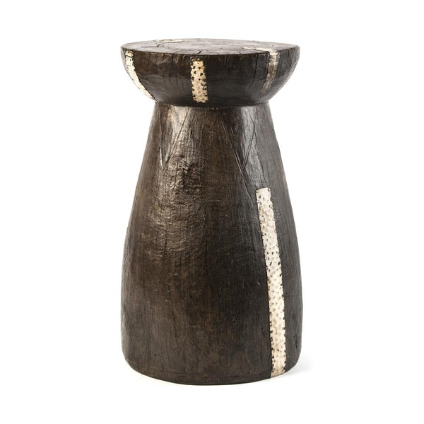 Lozi and Zimbabwe Mortar Stools