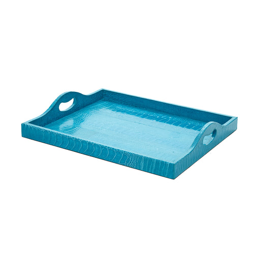 Ostrich Petite Tray Crystal Blue