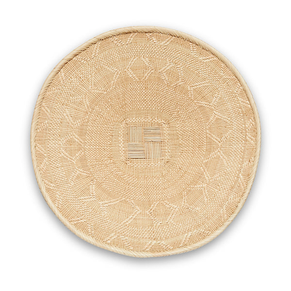 Blonde Binga/Tonga Basket Medium