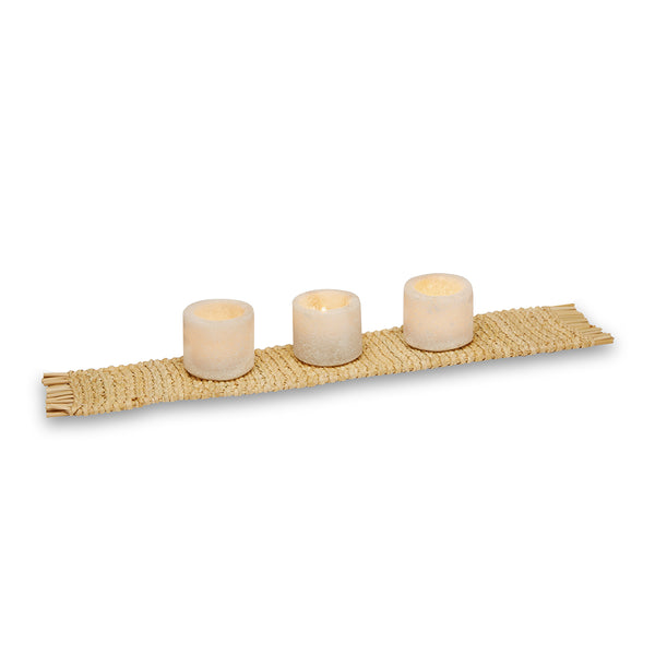 Saltstone Tea Light Holders