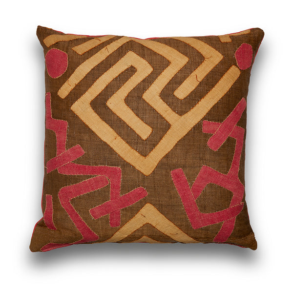 Pink Delicious Kuba Square Cushion