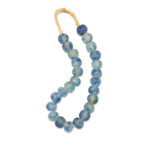 Ombre Blue Glass Beads