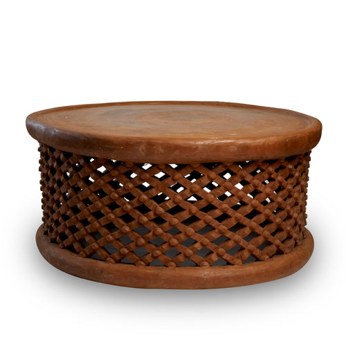 Bamileke Table Extra Large Brown