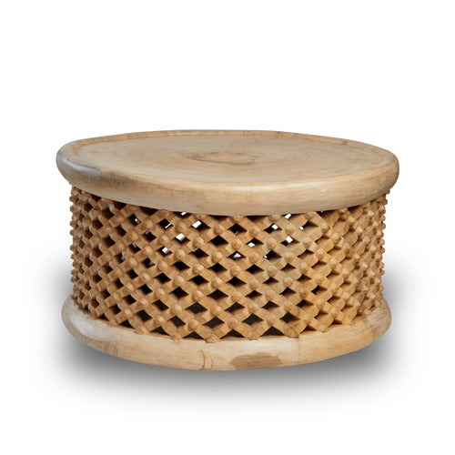Bamileke Table Extra Large Blonde