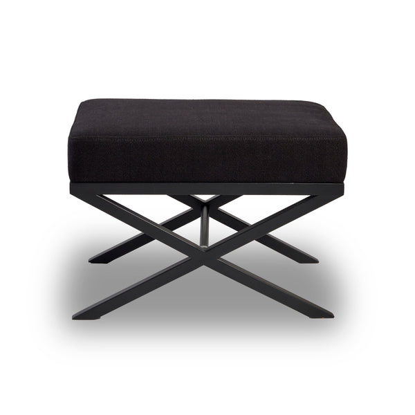 X-Leg Stool in Black