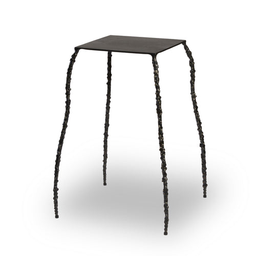 Spider Leg Side Table in Bronze
