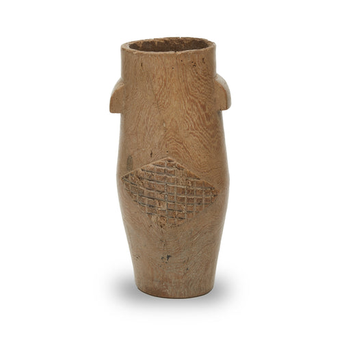 Zulu Wood Vessel