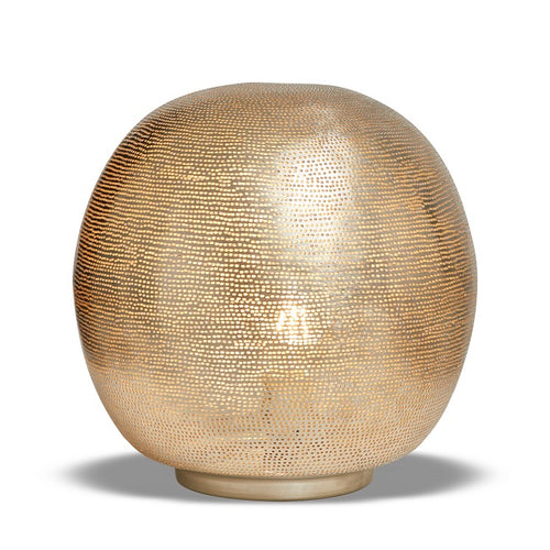 Table Lamp Ball Filisky Medium Nickel - TLFSBMES