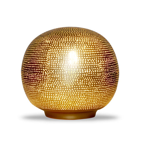 Table Lamp Ball Filisky Medium Gold - TLFSBMEGO