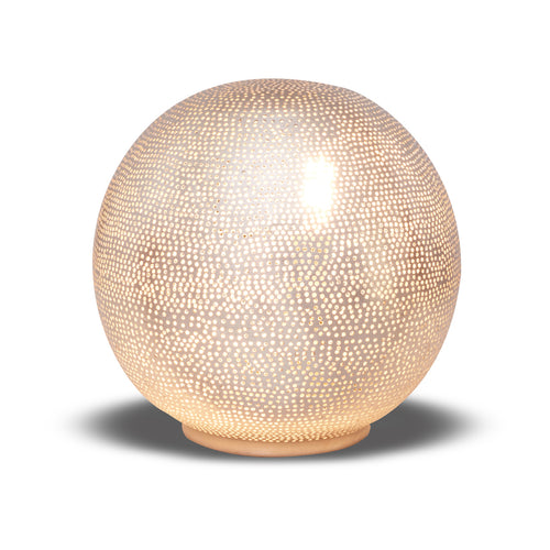 Table Lamp Ball Filisky Small Nickel - TLFSBSMS