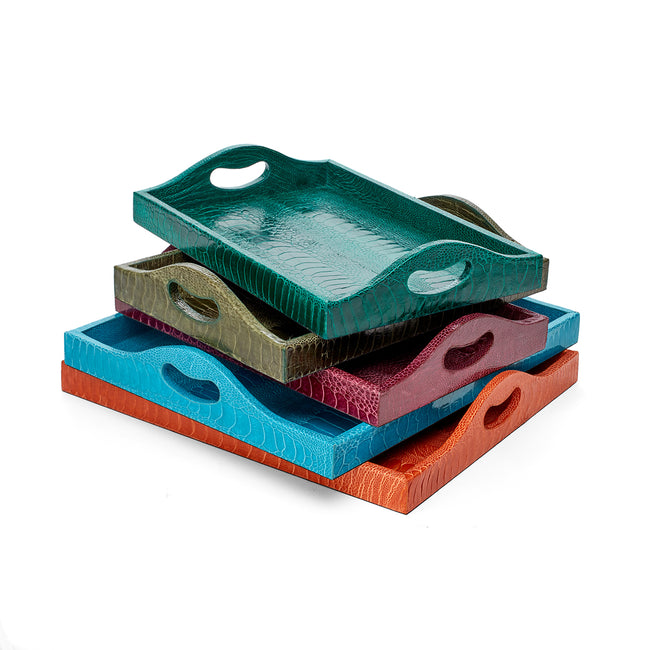 Ostrich Petite Tray Forest Green