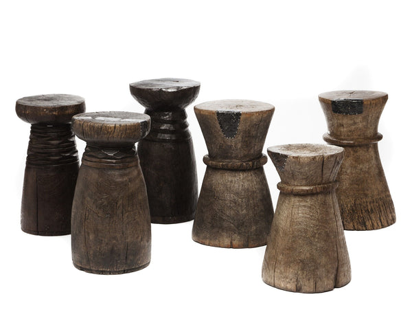 Lozi Mortar Stool B