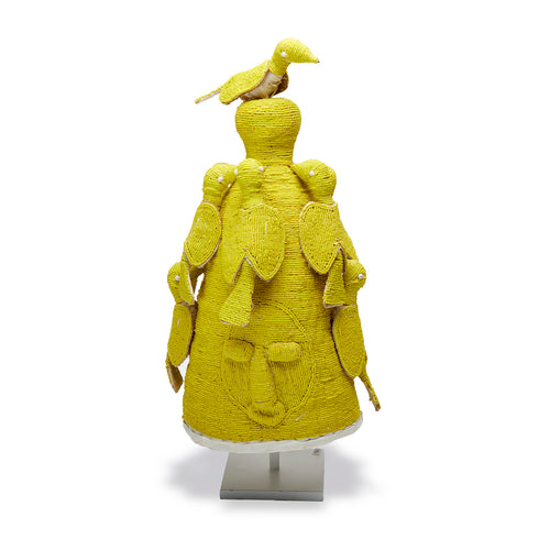 Yoruba Crown Yellow