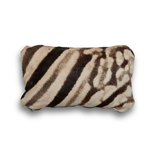 Genuine Zebra Pillow