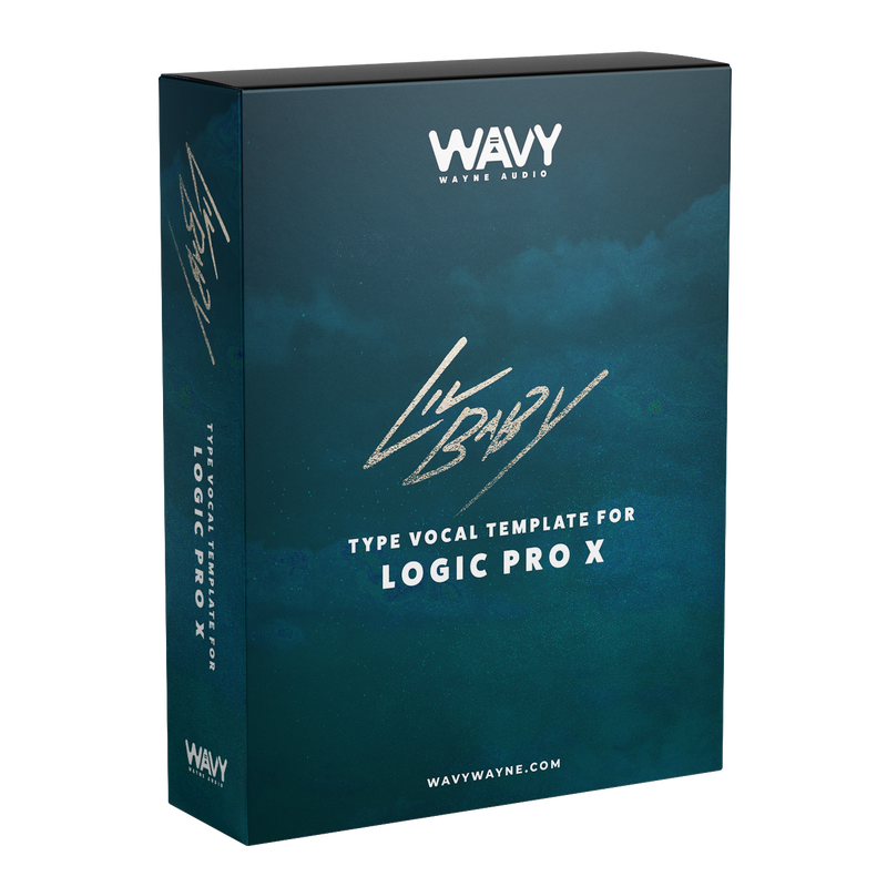 Lil Baby Type Vocal Template for Logic Pro X