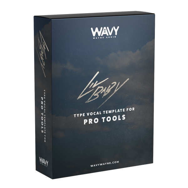 Lil Baby Type Vocal Template for Pro Tools