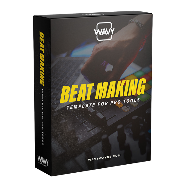 Beat Making Template for Pro Tools