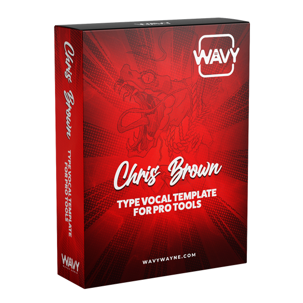 Chris Brown Type Vocal Template for ProTools