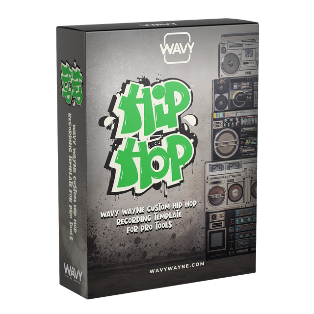 Wavy Wayne Custom Hip Hop Recording Template for Pro Tools