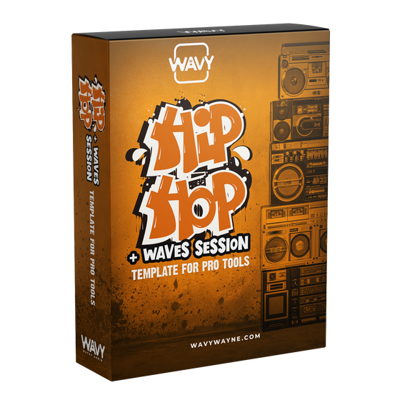 Hip Hop + Waves Session Template for Pro Tools