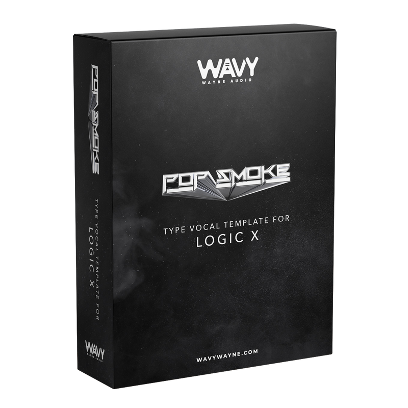 Pop Smoke Type Vocal Template for Logic Pro X