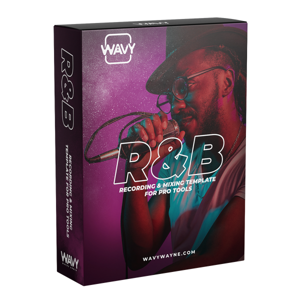 R&B Recording and Mixing Template for Pro Tools