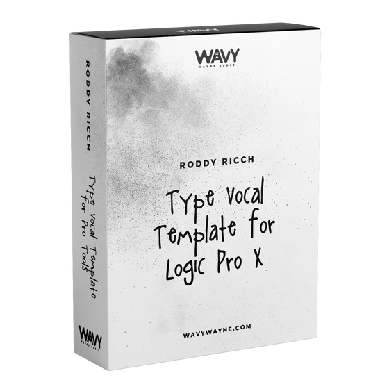 Roddy Ricch Type of Vocal Template for Logic Pro X