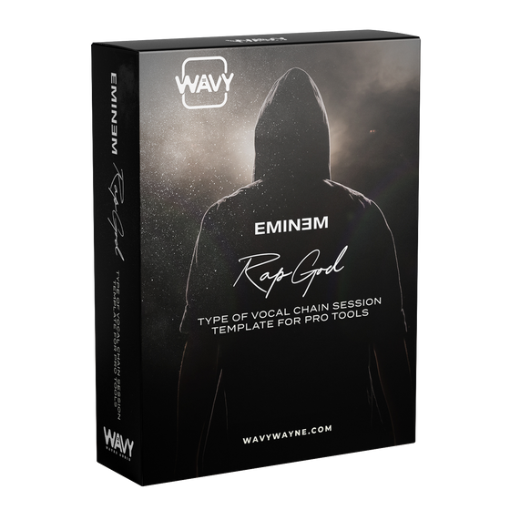 Eminem Rap God Type of Vocal Chain Session Template for Pro Tools