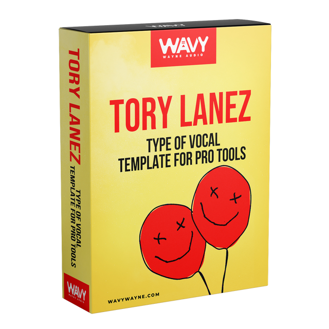 Tory Lanez Type of Vocal Template for Pro Tools