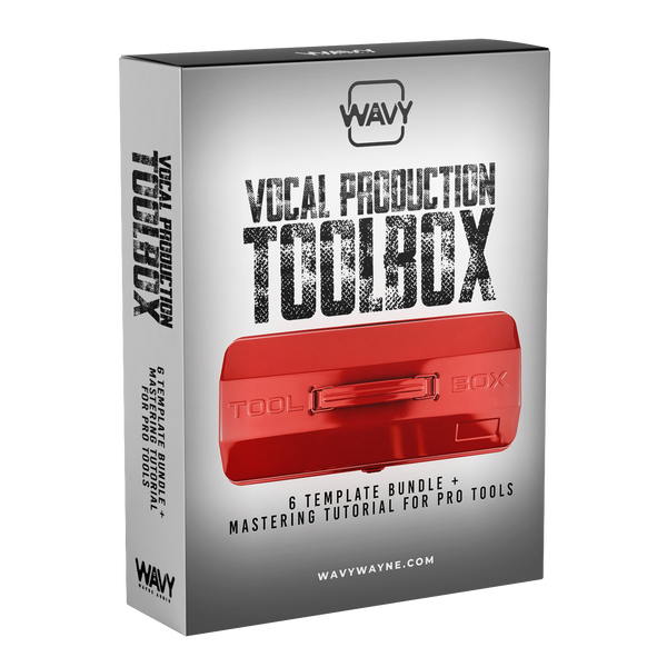 Vocal Production Toolbox - 6 Template Bundle + Mastering Tutorial for Pro Tools