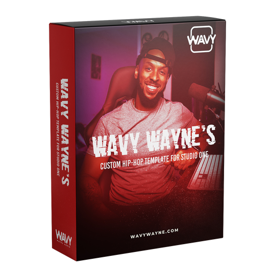 Wavy Wayne Custom Hip-Hop Template for Studio One