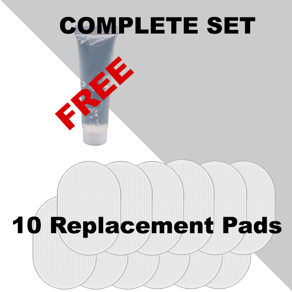 Replacement Gel Pads 6 Pcs - Ultimate ABS Stimulator