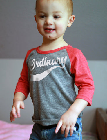 Ordinary - Infant Baseball Shirt
