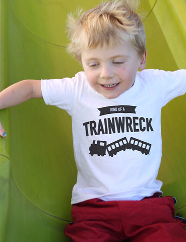 Kind of a Trainwreck - Toddler - White