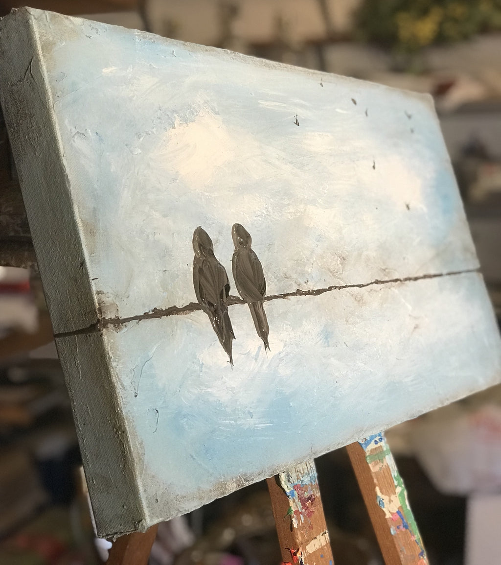 Birds on a Wire - Artwork