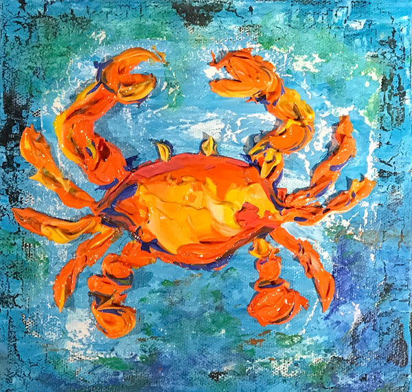 Related product : Blue Crab - Artwork