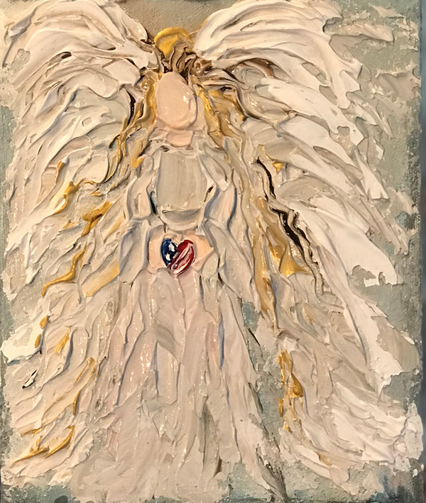 "Related product : ""My Patriot"" Angel - Artwork"
