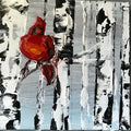 "New! ""Cardinal in Winter"" Artwork"
