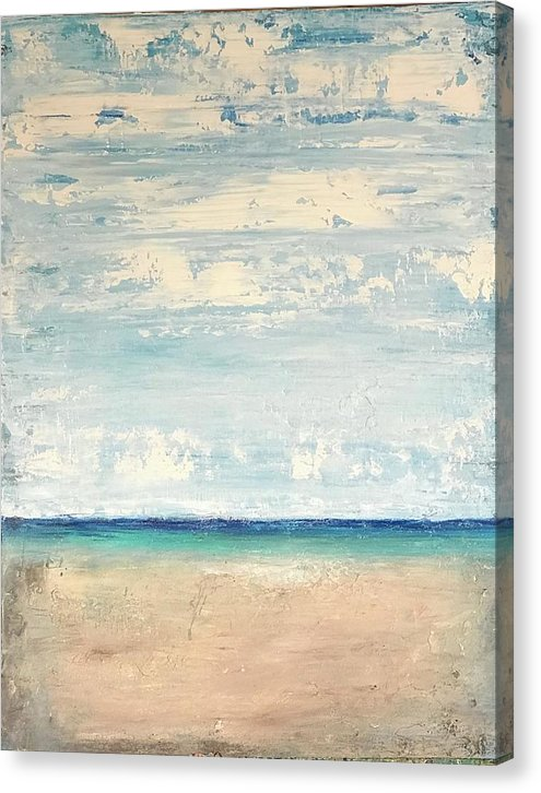 Abstract Seascape - Canvas Print