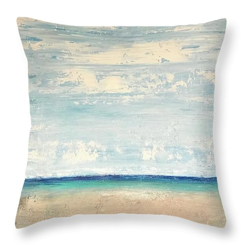 Related product : Abstract Seascape - Throw Pillow
