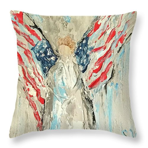 Always Free - Throw Pillow