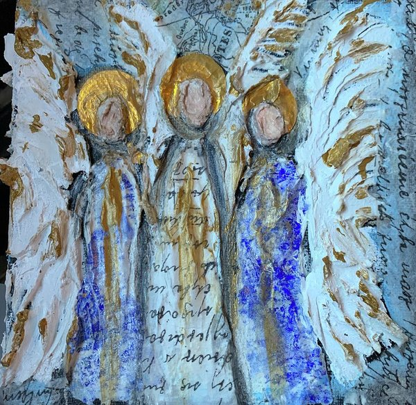 Angelic Trio - Art Print
