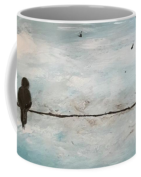 Birds On A Wire - Mug