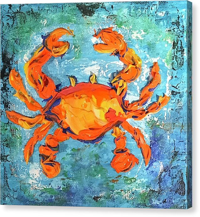 Blue Crab - Canvas Print
