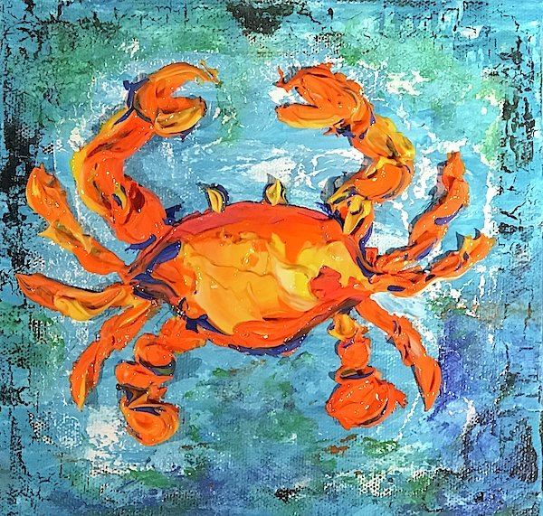 Related product : Blue Crab - Art Print