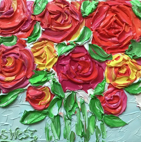 Related product : Celebration Roses - Art Print