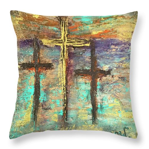 Easter Sunrise - Throw Pillow