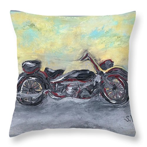 Easy Ride - Throw Pillow