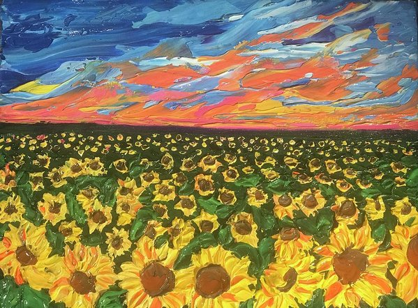 Related product : Field Of Suns - Art Print