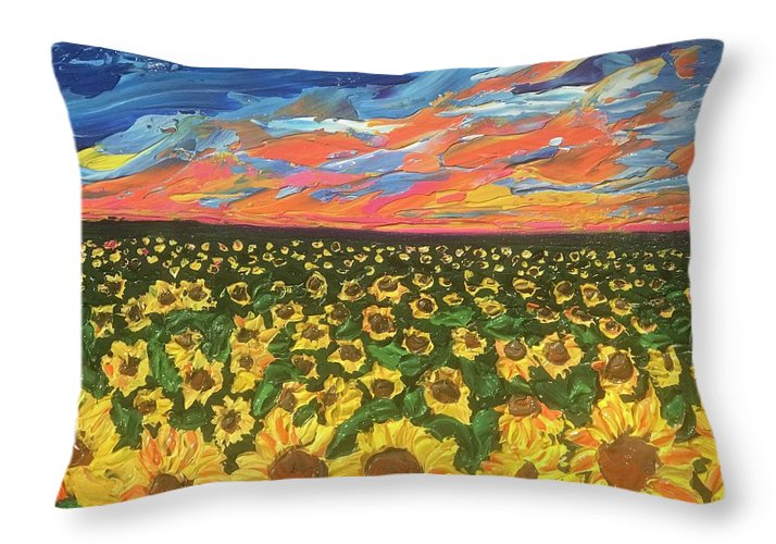 Field Of Suns - Throw Pillow